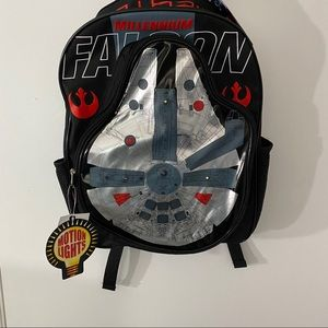 Disney StarWars MillenniumFalcon Light Up Backpack
